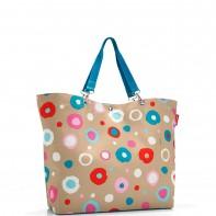 Shopper XL pojemność 35l torba na zakupy, flower ZU6034