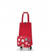 Foldabletrolley pojemność 30l wózek, funky dots2 HK3048