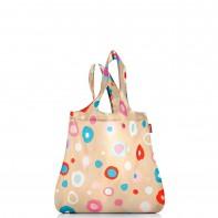 Mini maxi shopper pojemność 15l torba na zakupy, funky dots1 AT6034