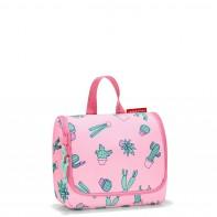 Toiletbag Kids S pojemność 1,5 l kosmetyczka, cactus pink RIO3055