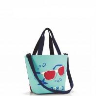 Shopper XS pojemność 4l torba na zakupy, special edition aquarius RZR4052