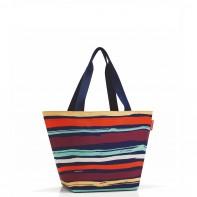 Shopper M pojemność 15 l torba na zakupy, artist stipes RZS3058