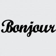 DekoSign Bonjour Napis dekoracyjny