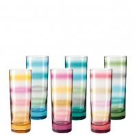 Leonardo Rainbow zestaw szklanek