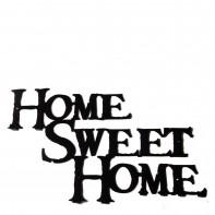 Briso Design Home Sweet Home wieszak na ubrania XL