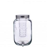 Kitchen Craft Słój szklany z kranikiem i wkładem na owoce