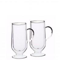 Le Xpress pojemność 325 ml Szklanki do latte podwójna ścianka, 2 szt. KCLXDWLATTE2PC
