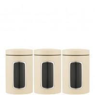 Brabantia Storage Brabantia komplet 3 pojemnik�w kuchennych, kolor be�owy