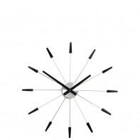 NeXtime Plug inn Black zegar ścienny