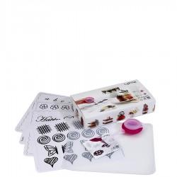 Decomat zestaw do dekoracji z czekolady