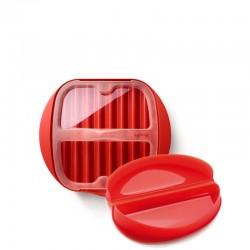 Lekue Lekue Zestaw śniadaniowy: Naczynie do omletu i naczynie do pieczenia plastrów boczku