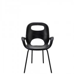 UMBRA OH krzesło z oparciem, kolor czarny