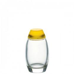 Guzzini Happy Hour solniczka i pieprzniczka, kolor żółty
