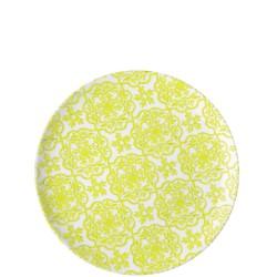 Guzzini Le Maioliche talerz obiadowy Acid Yellow