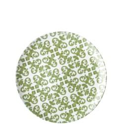 Guzzini Le Maioliche talerz obiadowy Mint Green