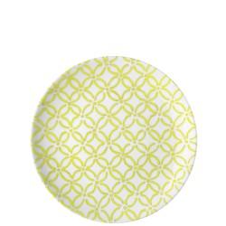 Guzzini Le Maioliche talerz deserowy Acid Yellow