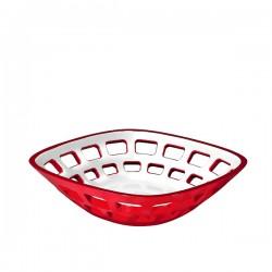 Guzzini Vintage koszyk na pieczywo, czerwony