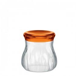 Guzzini Latina pojemnik kuchenny, pokrywka pomarańczowa