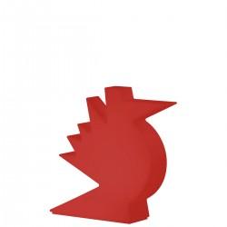 Slide Here lampa stołowa, kolor czerwony