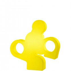 Slide There lampa podłogowa, kolor żółty
