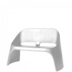 Slide Amelie Duetto ławka w kolorze białym
