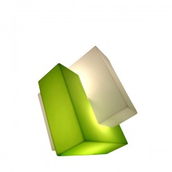 Slide Pzl lampa dekoracyjna, kolor zielony