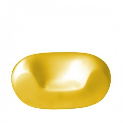 Slide Chubby fotel w kolorze żółtym