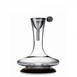 Legnoart Croo karafka z akcesoriami do dekantacji wina
