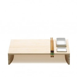 KOBE zestaw do sushi z miseczkami i pałeczkami