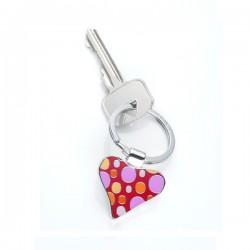 Fizzy Heart breloczek w kształcie kwiatka