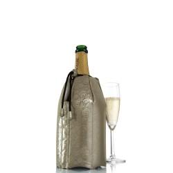 Vacu Vin Platyna okrycie chłodzące do butelki szampana