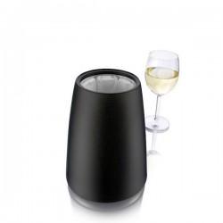 Elegant kubełek na butelkę wina, czarny