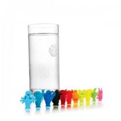 Glass Markers Party People oznaczniki do szklanek, 12 szt