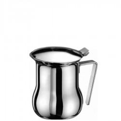 Praktika dzbanek z pokrywką do parzenia kawy lub podgrzewania mleka