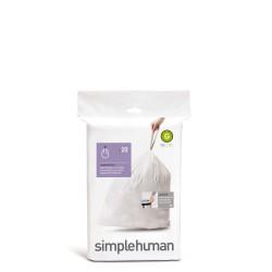 Simple Human Simple Human Worki na śmieci, 20 szt.