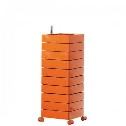 MAGIS 360 Container podręczna szafka z szufladami, kolor pomarańczowy