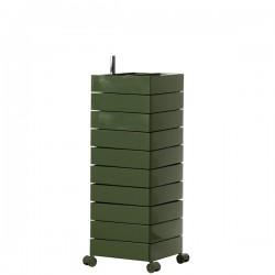 MAGIS 360 Container podręczna szafka z szufladami, kolor zgniły zielony