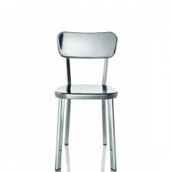 MAGIS Deja-vu krzesło z oparciem, chromowane