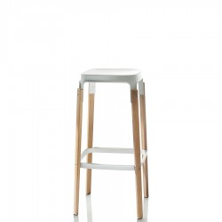 Steelwood Stool krzesło barowe, niskie