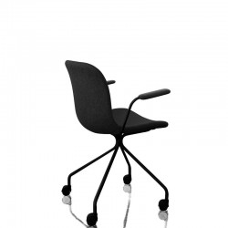 MAGIS Troy Star krzesło na kółkach z podłokietnikiem