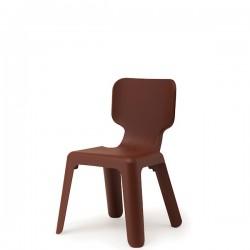 Alma krzesełko, kolor brązowy