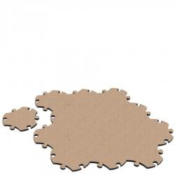 MAGIS me too Dywanik Puzzle piasek