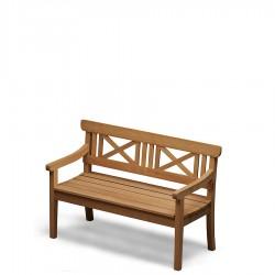 Skagerak Drachmann ławka ogrodowa, kolor beżowy