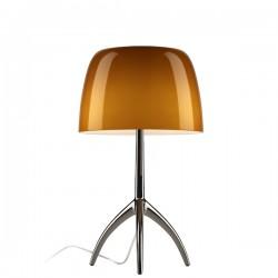 FOSCARINI Lumiere 05 lampa stojąca, kolor bursztynowy