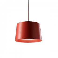 FOSCARINI Twiggy lampa wisząca, kolor czerwony