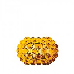 FOSCARINI Caboche lampa ścienna, mała, kolor żółto-złoty