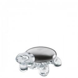 Koziol Amanda mydełko usuwające zapachy na transparentnej podstawce