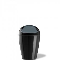 Koziol Del XS kosz na śmieci, kolor czarny