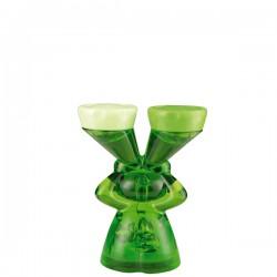 Luke pojemnik na szkła kontaktowe, kolor zielony