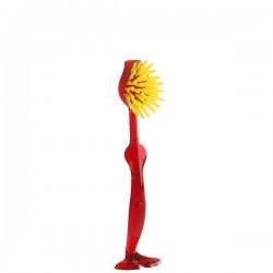 Koziol Tim szczota do mycia, kolor czerwony